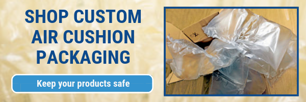 air cushion packaging CTA